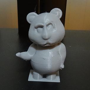 """Wellllll"" Oliver Pose (3D Printed Teddy Bear)"