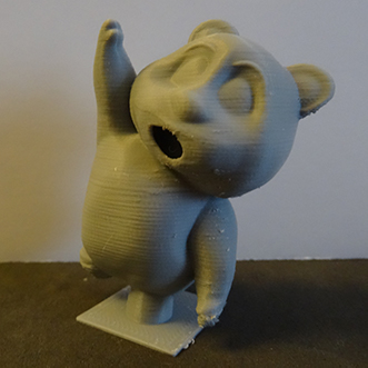 Oliver Reaching for the Stars (3D Printed Teddy Bear)