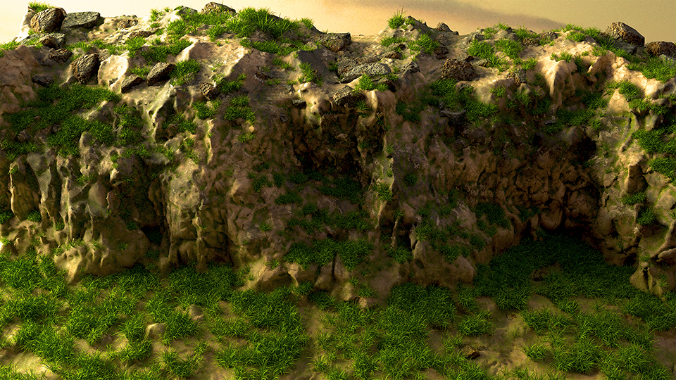 This took 2s to render with light maps compared to 20s without light maps.
