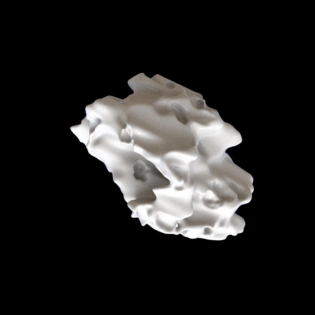 Houdini SOP Solver Disintegration effect & deforming geometry