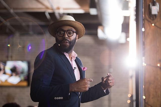 Listening to @chrisemdin @ted and remembering his powerful keynote at the DeVos Foundation Celebration last month. . . . #eventphotography #grandrapidseventphotography #westmichiganphotographer  #rachetdemics #devosfoundation