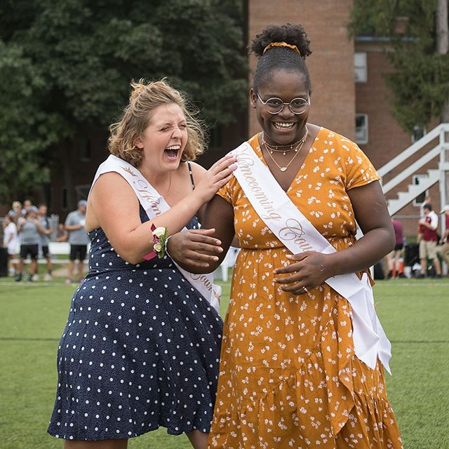 Photographing @aquinascollegegr homecoming was amazing. Almost as amazing as your best friend wining homecoming queen. . . . #homecoming2019 #eventphotography #homecomingphotography
