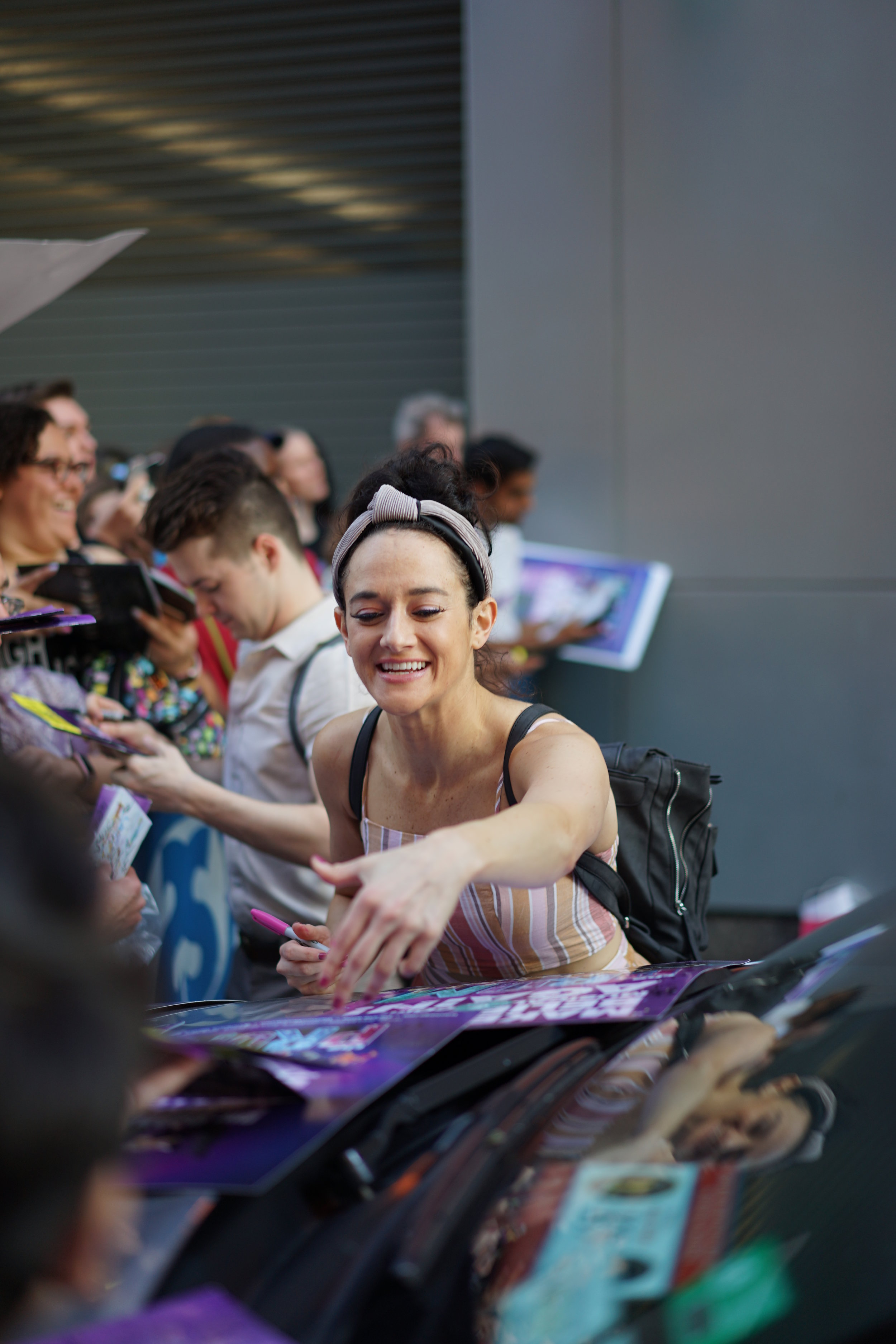 I managed to get it together for the final stage door. I think I was just relieved it was over!  Photo: Kate Yu @kateyu.sh