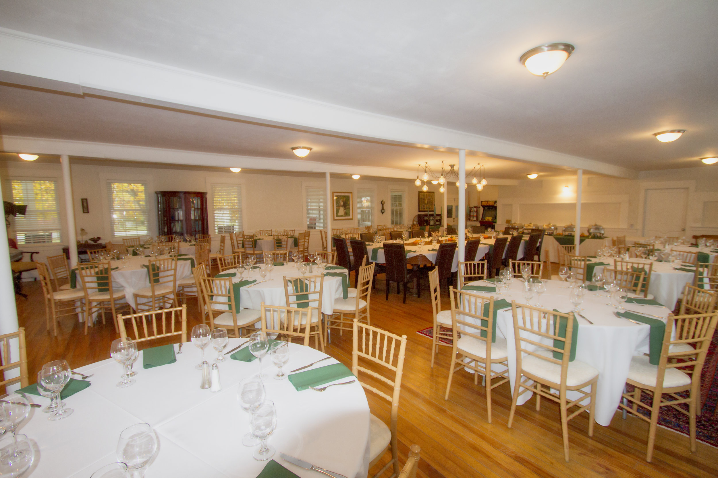 Elegant dining hall