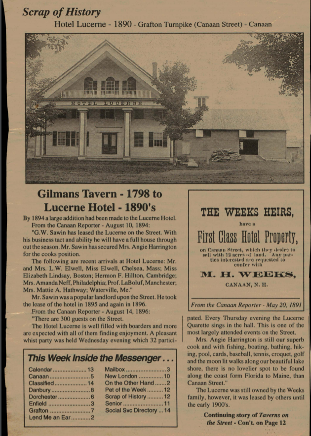 Gilman's Tavern