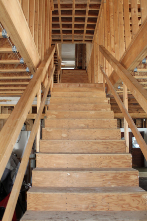 Front first floor view up to the second