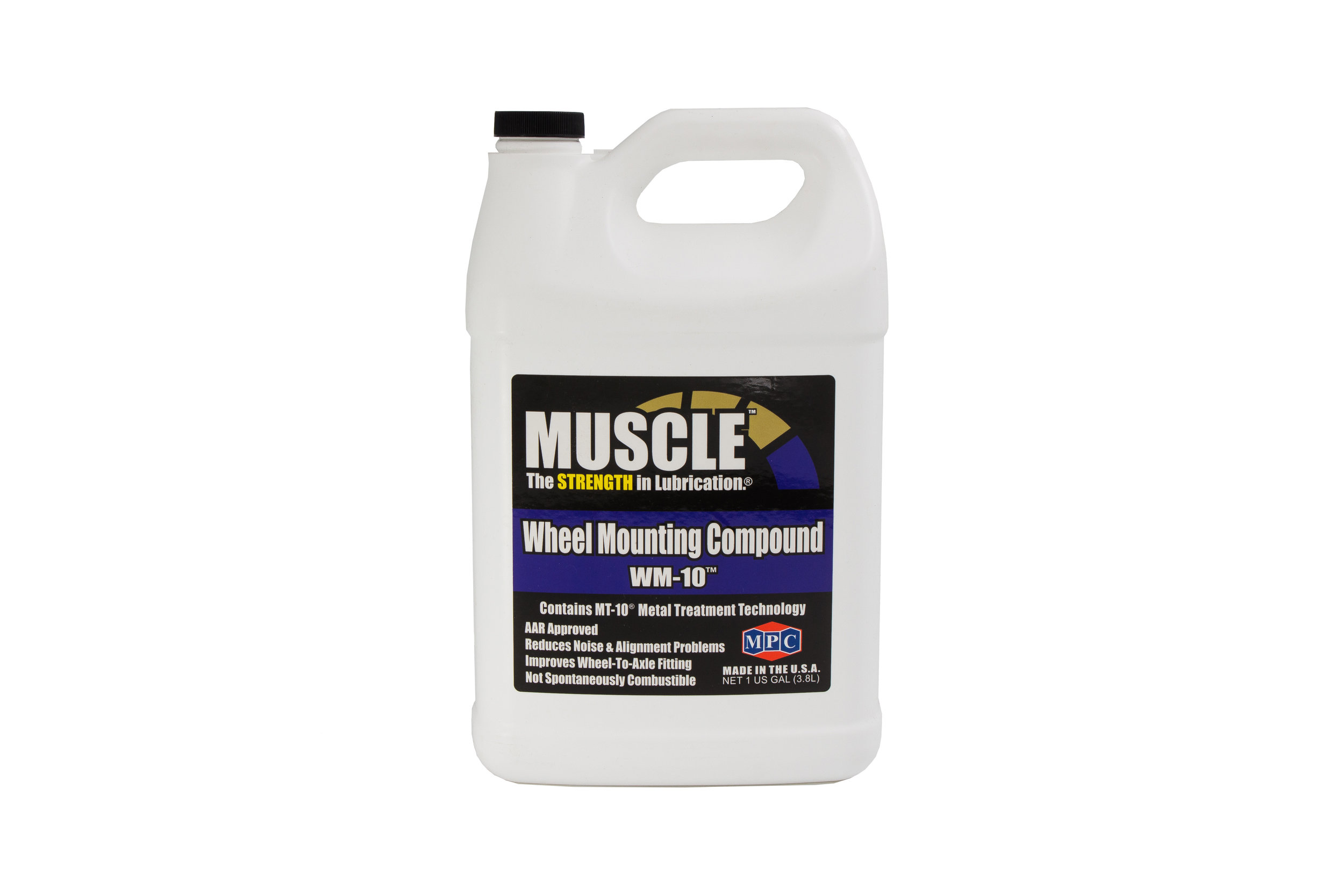 Wheel Mounting Compound WM-10™  WM-10™ is an extreme-pressure compound for press fitting and mounting steel railroad wheels to their axles.   Learn More >>