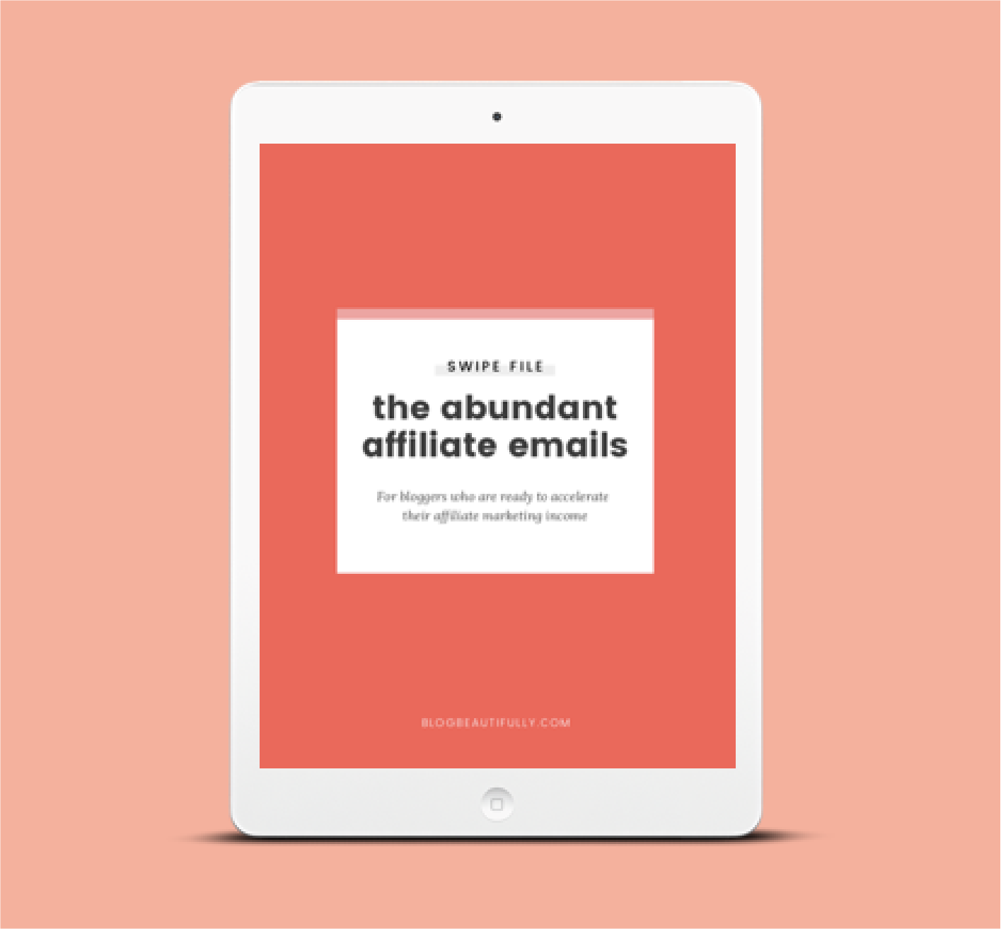 The Abundant Affiliate Swipe File - Get the exact five emails I sent to my mailing list that brought in over $4,000 in affiliate income in just one week.
