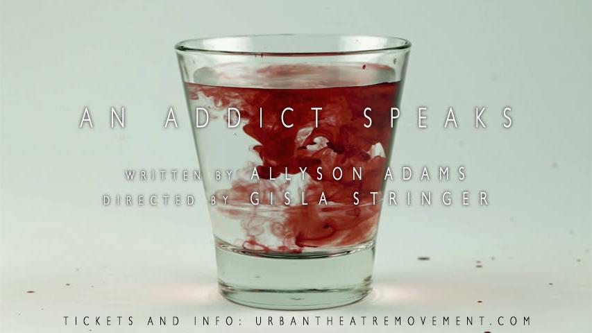 addict poster