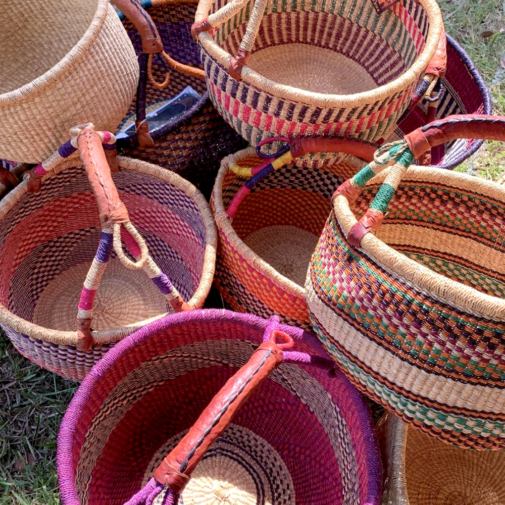 Inside Africa Grass Baskets