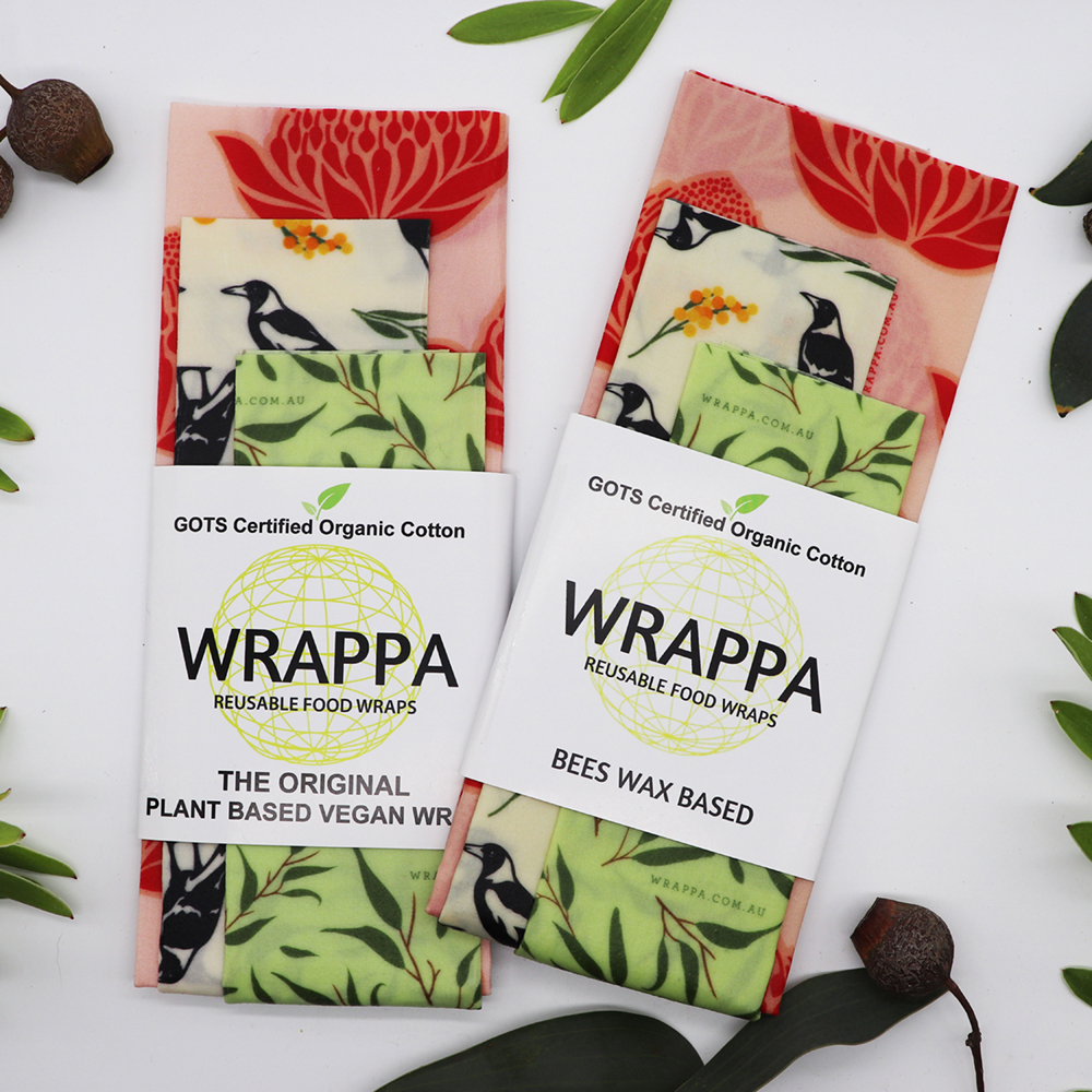 WRAPPA Reusable Food Wraps