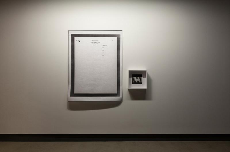 Installation view, Galerie Dazibao