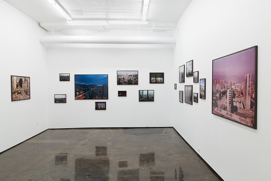 Installation view, Patrick Mikhail gallery, Montreal