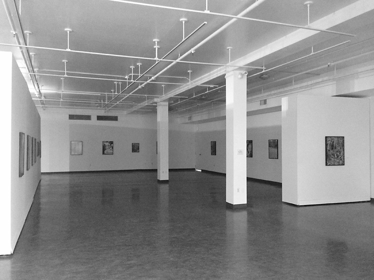 Installation view, Art Gallery of Southwestern Manitoba