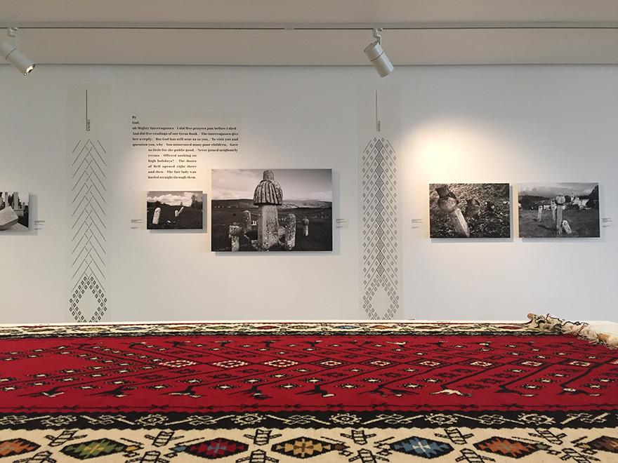 Installation view, Ismaili Center, Toronto