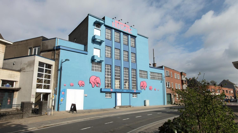 The Hughye brewery's main building in Melle, Belgium.
