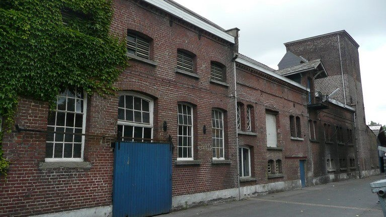 The historic brew house of Verhaeghe in Vichte, West-Flanders Region of Belgium