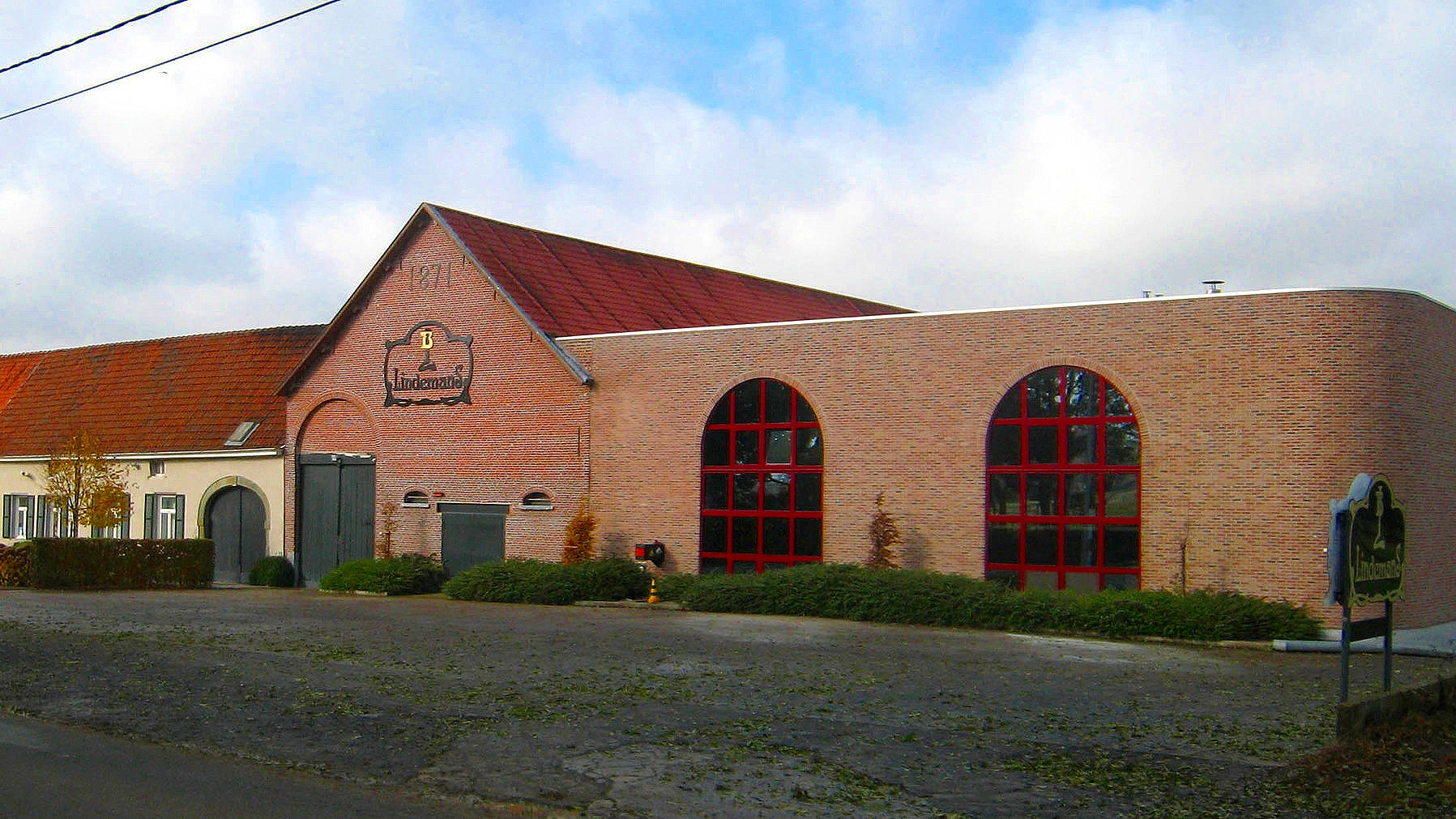 Lindemans brewery in Vlezenbeek, Belgium
