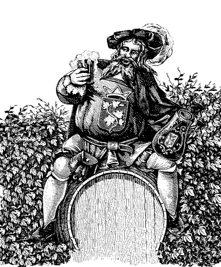 Gambrinus - the 'King of Beer'
