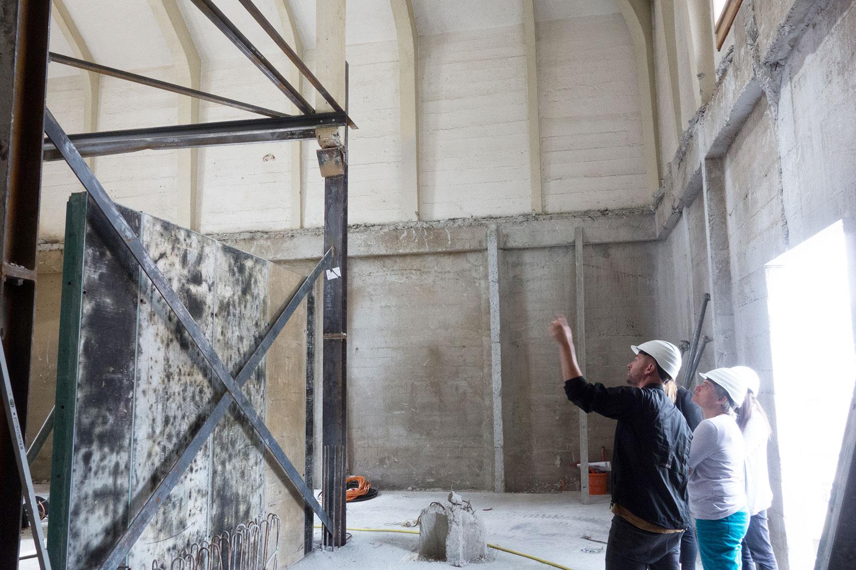 visite de chantier | moulin de sion