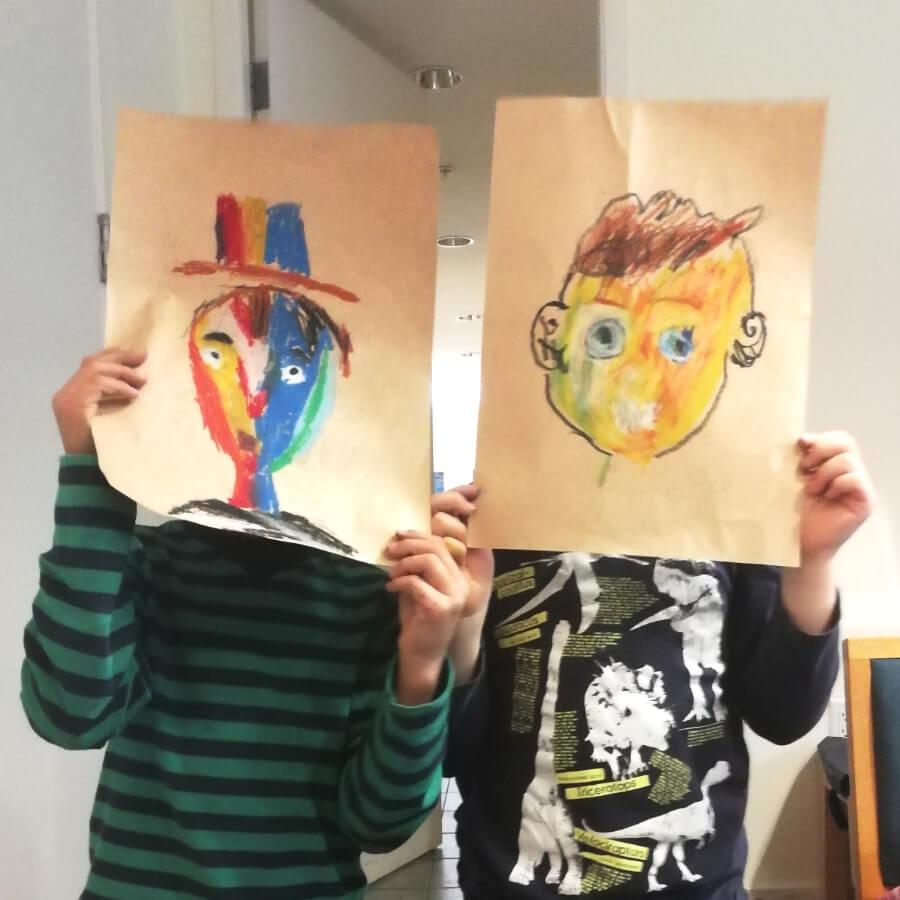 After school art program at Little Cedar
