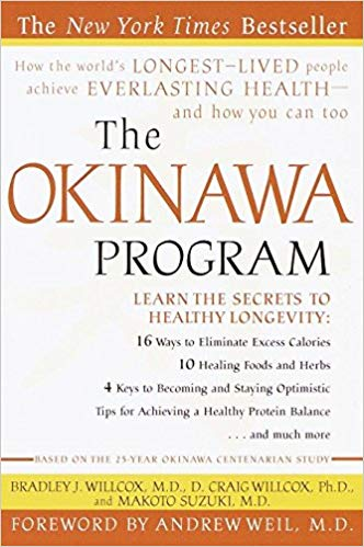 """The Okinawa Program is a very significant contribution to the science of longevity. Read this book carefully and follow the recommendations and you will add years to your life and life to your years."" —Deepak Chopra, M.D., author of  Ageless Body, Timeless Mind   ""As you will learn in this scientifically factual and highly readable book, the general principles of living the Okinawa way . . . are accessible to everyone and quite consistent with the latest medical research on healthy lifestyles and healthy aging."" —From the foreword by Andrew Weil, M.D., author of  Spontaneous Healing  and  8 Weeks to Optimum Health"