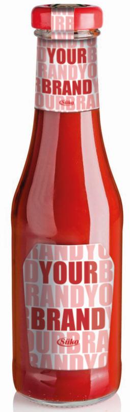 Süko 450ml ketchup glass bottle