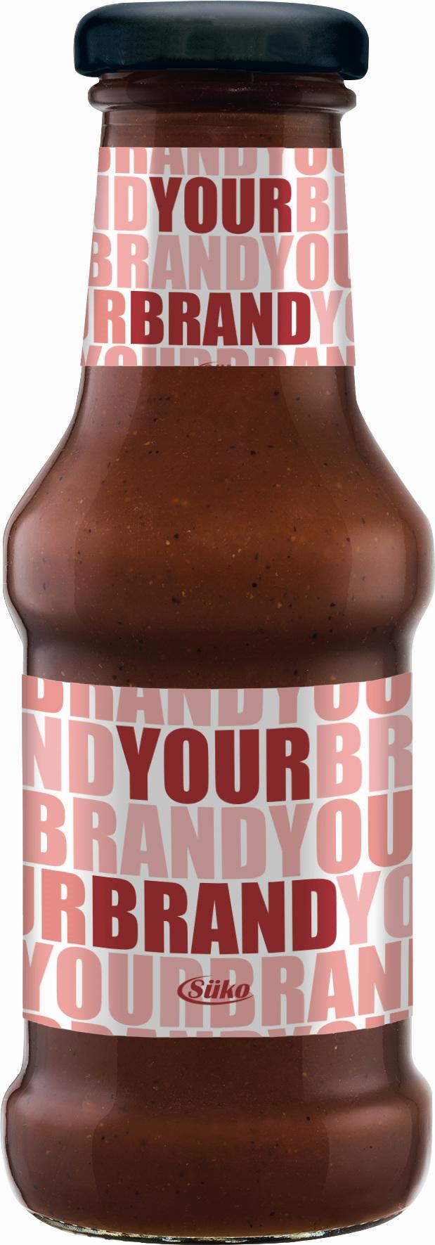 Süko 250ml sauces glass bottle 1