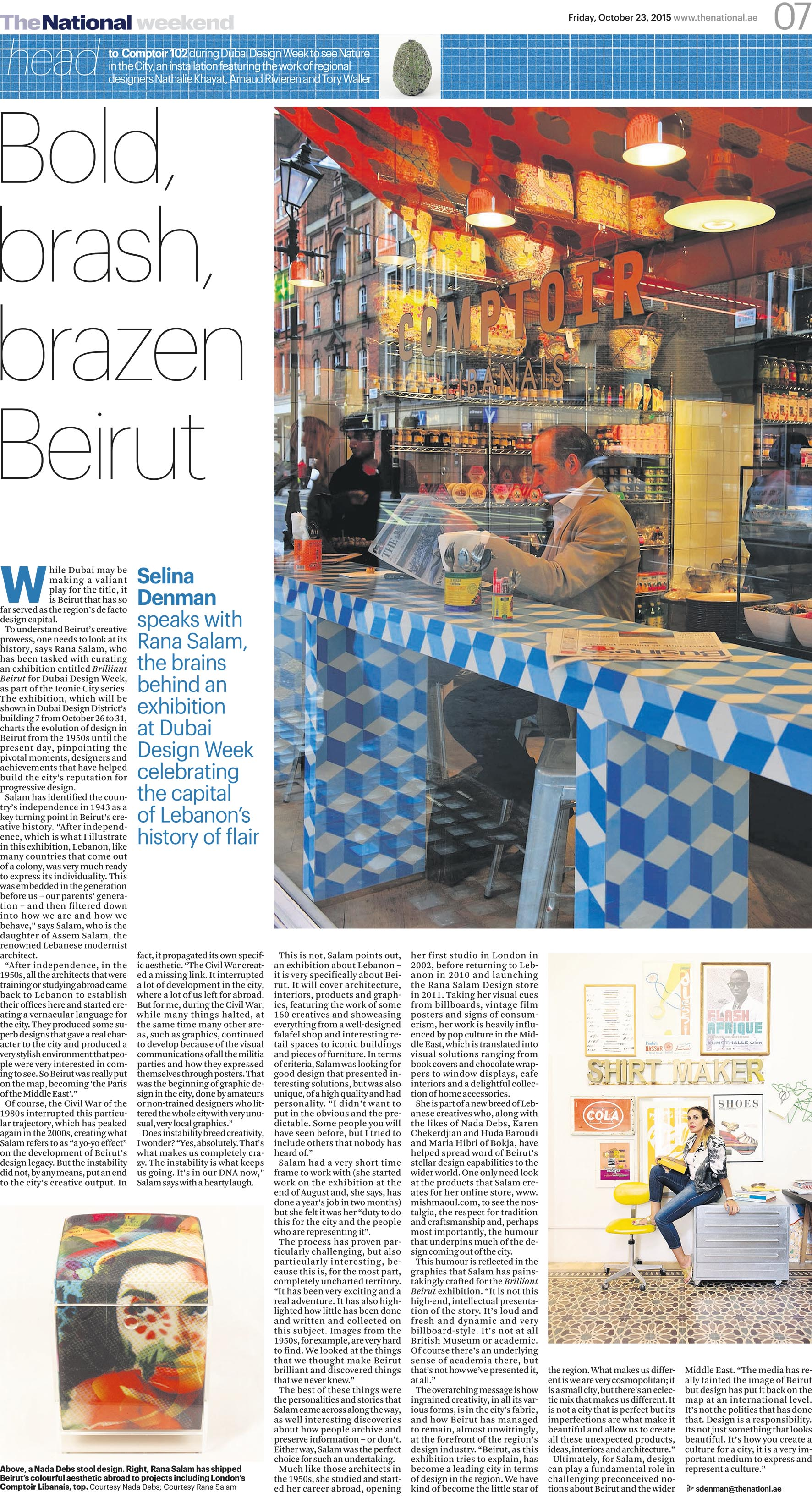 The National_Weekend_Bold brash brazen Beirut 23.10.2015.jpg