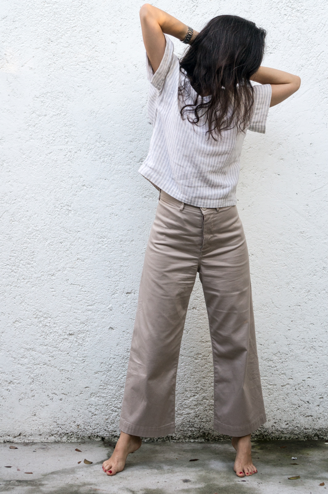Persephone Pants Fulwood Top by Sewing Tidbits