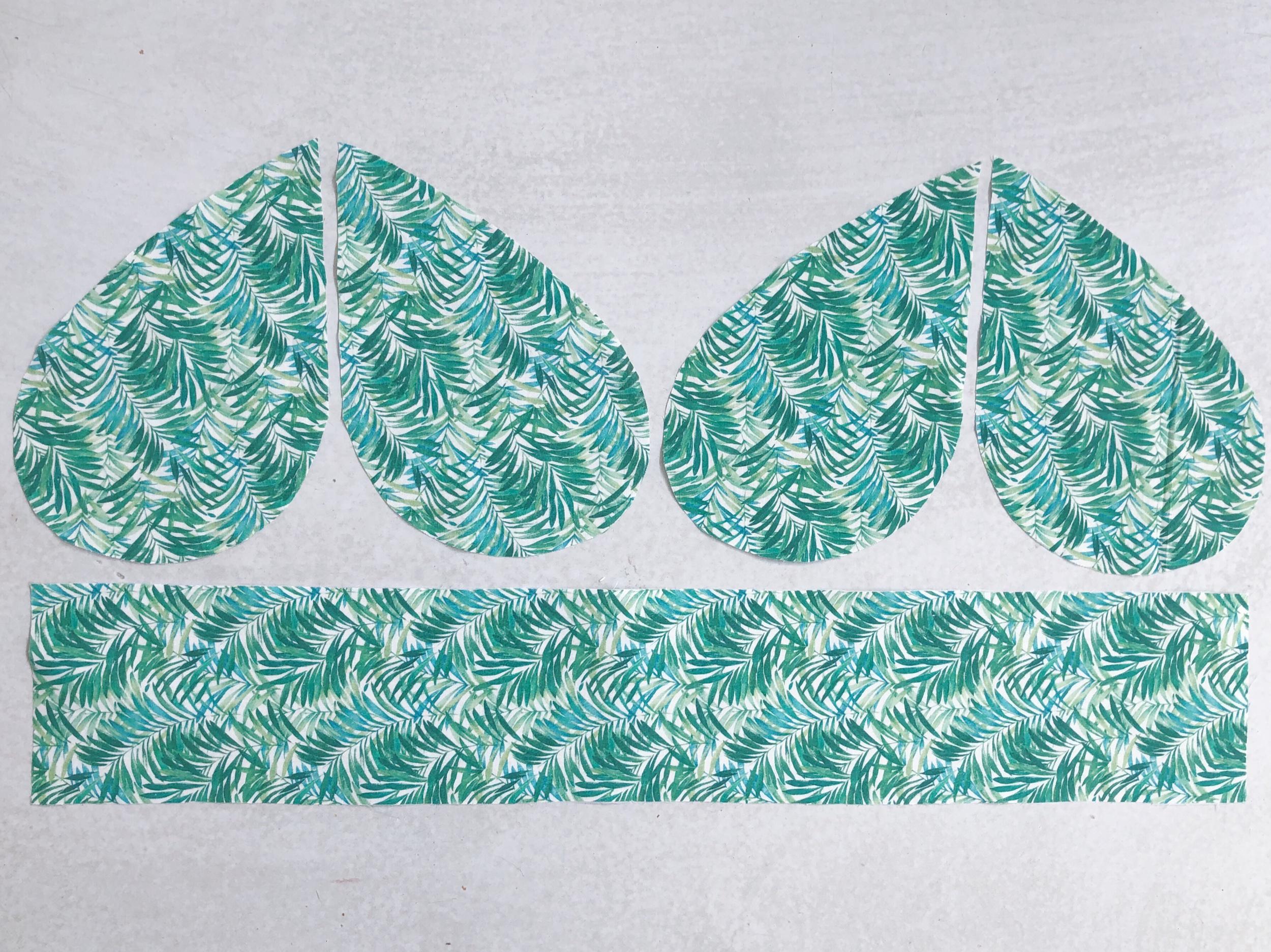 Just Patterns Stephanie Skirt sewalong pockets and waist