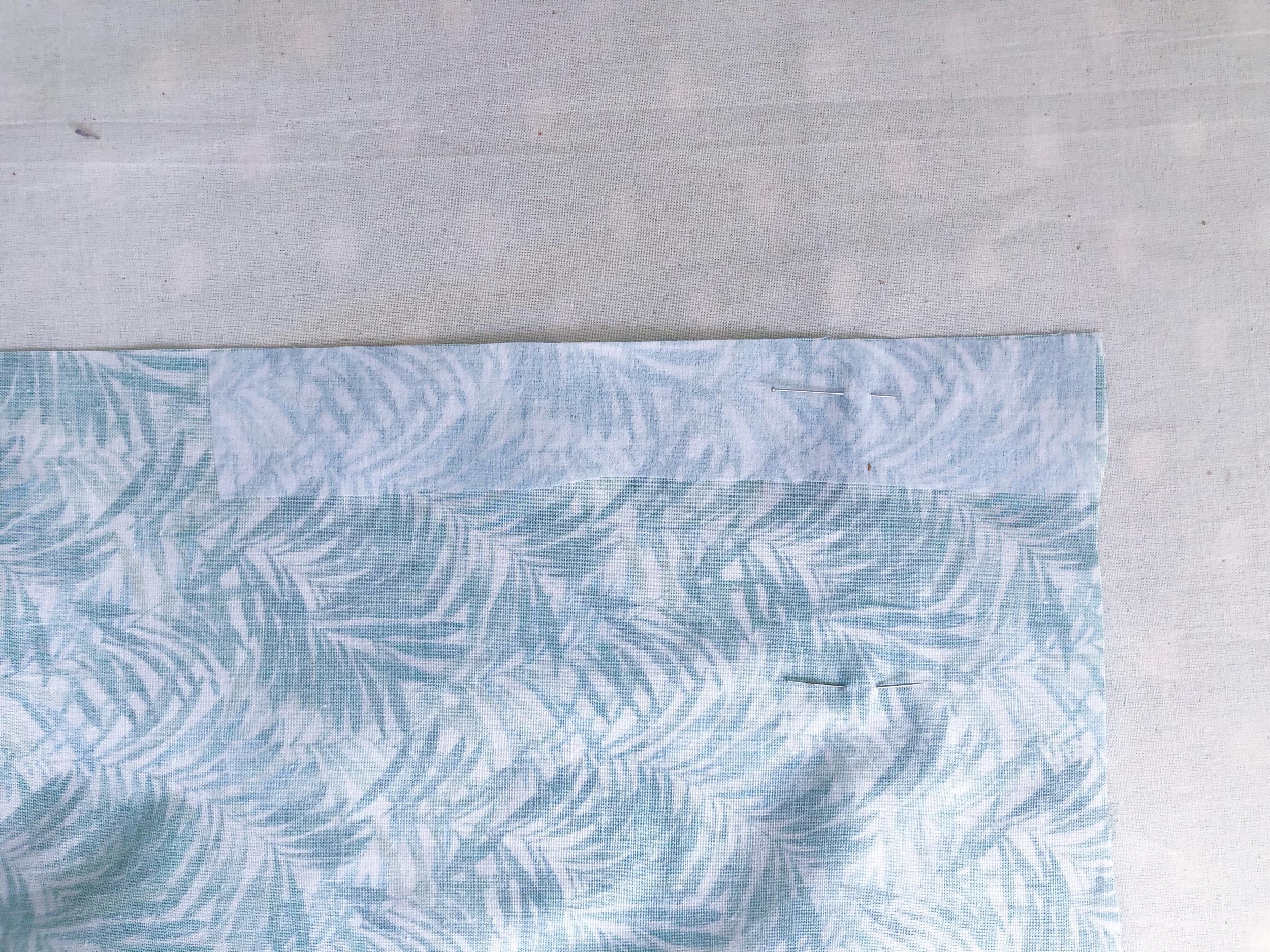 Just Patterns Stephanie Skirt sewalong pleats fusible 2