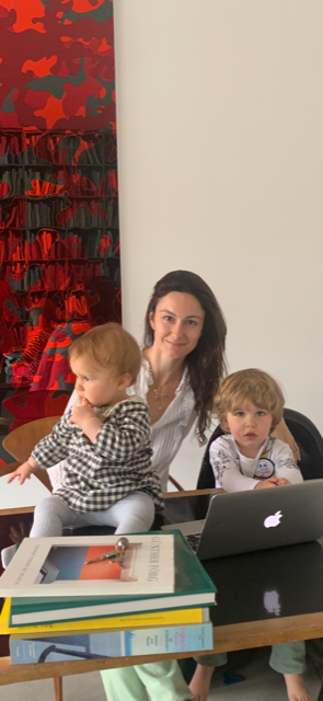 ABOUT CONSTANCE - I am a 36 year old french woman living between Berlin in Paris. I met my German husband in NYC 10 years ago, and moved to Berlin where he was already living 5 years ago. I set up my own business at that time ( a brand strategy and communication agency through contemporary art) and have had 2 children in the last 3 years. Our family lives and breathes through art - i often call ourselves the