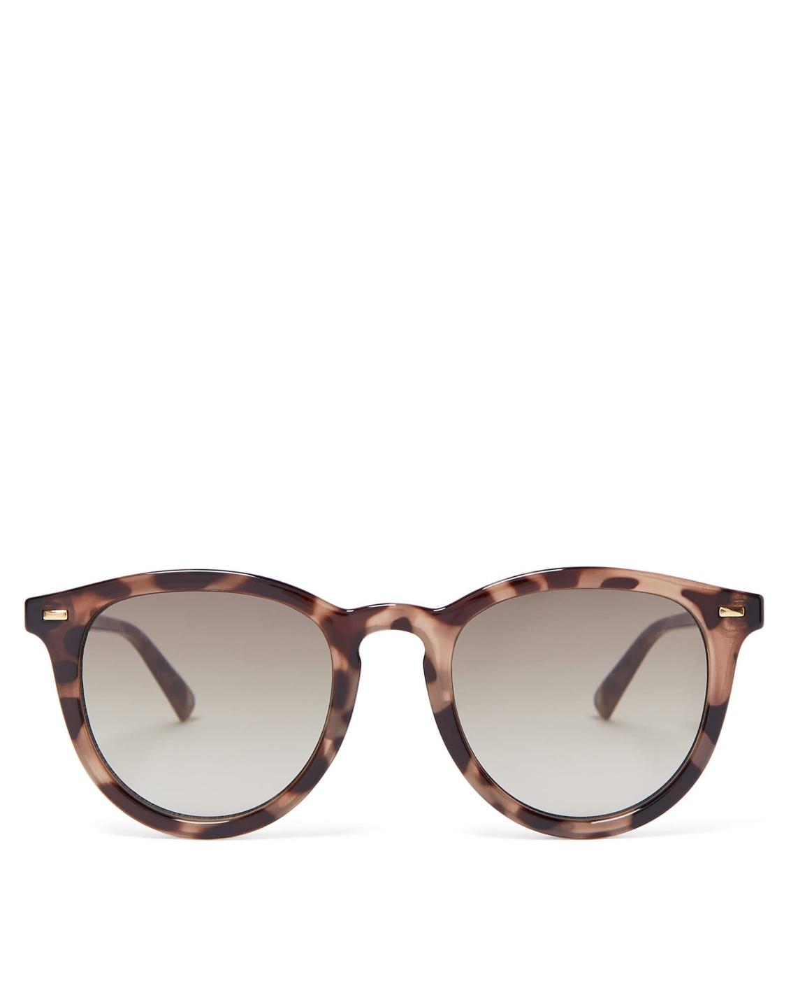 LE SPECS Round Acetat Sunglasses