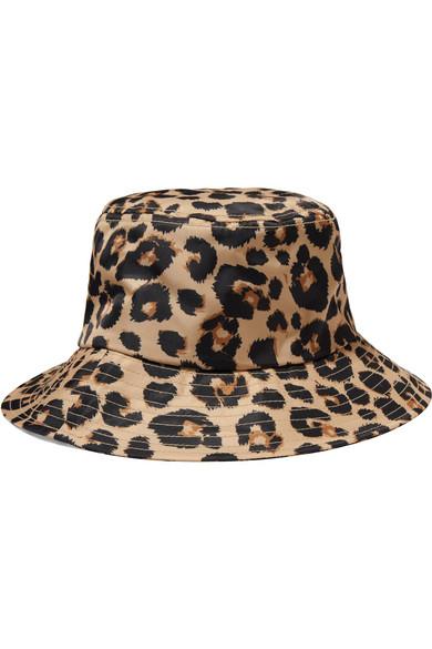 LOEFFLER RANDALL Leopard Bucket Hat