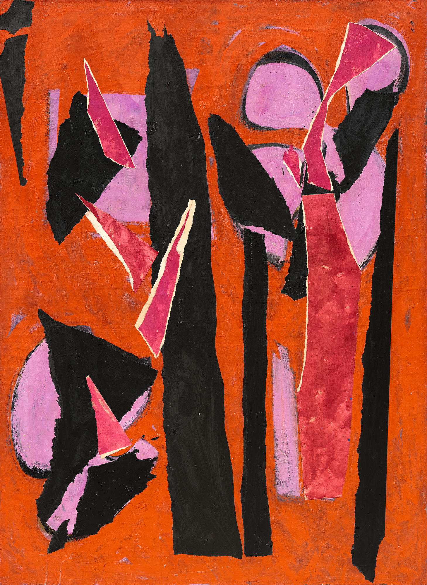 Credit: Lee Krasner, Desert Moon, 1955. Los Angeles County Museum of Art. © The Pollock-Krasner Foundation. © 2018, Digital Image Museum Associates/ LACMA/Art Resource NY/ Scala, Florence.