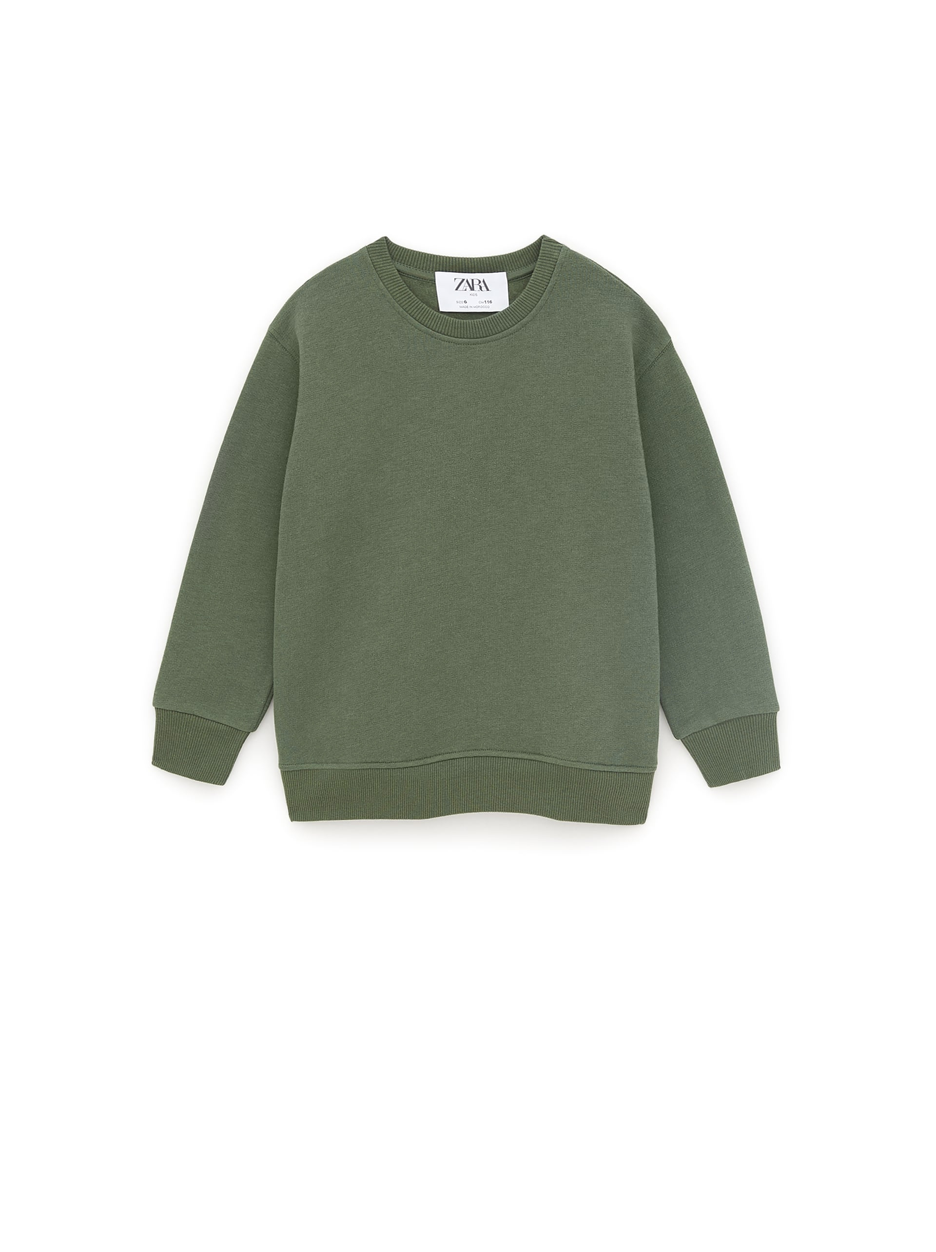ZARA Basic Plain Sweatshirt