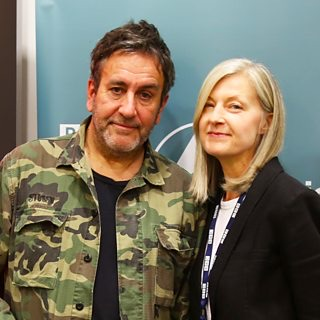 The Specials' Terry Hall and BBC 6Music's May Anne Hobbs