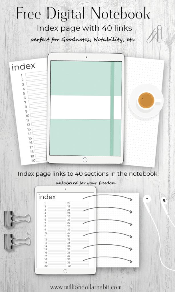 Free Digital Notebook