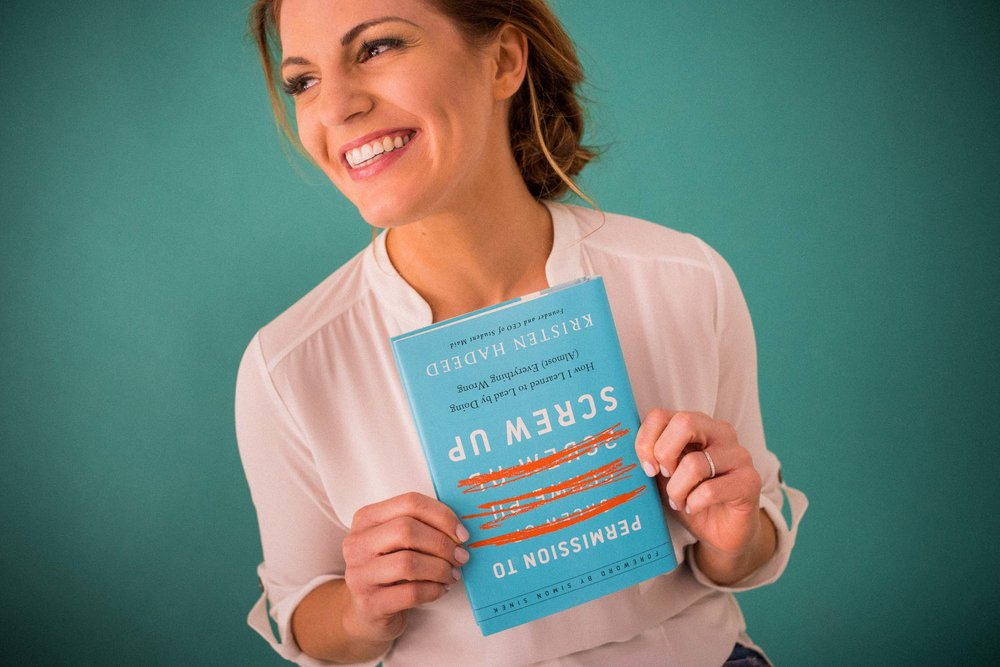 KRISTEN HADEED - Check out our Q-and-A with Kristen about what she's learned as a business owner below.
