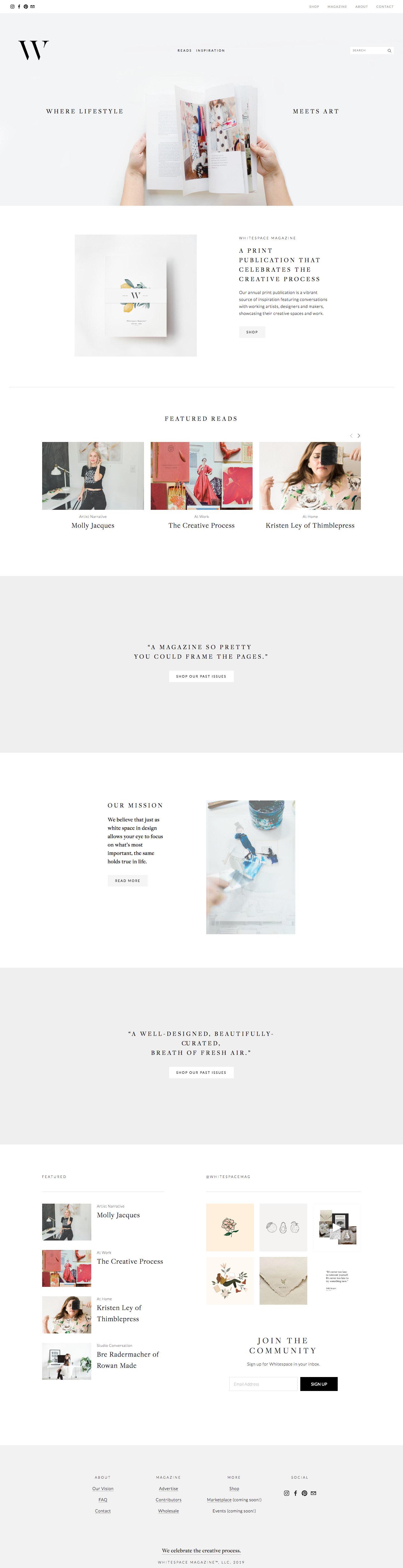White Space Magazine