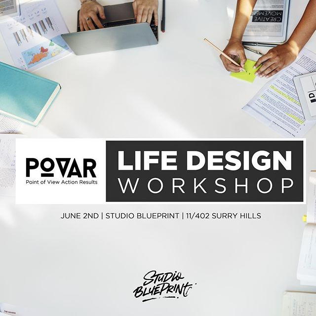 Do you want to get clarity on your life goals and become the architect of your life?⠀ -⠀ The @povarlife Life Design Workshop is an epic tried and tested formula to take you from where you are today to where you really want to be in 12 months from now! (Even if you currently have no idea where that is!)⁣⠀ -⠀⁣⠀ Perfectly suited to -⁣⠀ -⠀⁣⠀ * People wanting to start their own business⁣⠀ * People who have a big life project to get started⁣⠀ * People who are at a crossroads in their life⁣⠀ -⠀⁣⠀ Here's what you'll get -⁣⠀ -⠀⁣⠀ 👁 - Clarity - This is the #1 word we hear from our graduates. Get clarity on what 2019 means to YOU and what to do to begin...⁣⠀ 💡- Many of our workshop attendees say they discover a passionate life purpose through our work.⁣⠀ 💰- You will mind-map your life history and uncover golden nuggets of wisdom that you can package and SELL.⁣⠀ 👫 - Spending a whole day sharing your dreams and ideas with people aways builds wonderful new friendships.⁣⠀ ⌛ - Once you begin your project (which you will on the day), squandering time becomes a thing of the past!⁣⠀ 🛠 - POVAR events are jam packed with tools and take aways that you can use straight away to improve your life.⁣⠀ -⁣⠀ Get your ticket at the link in our bio.