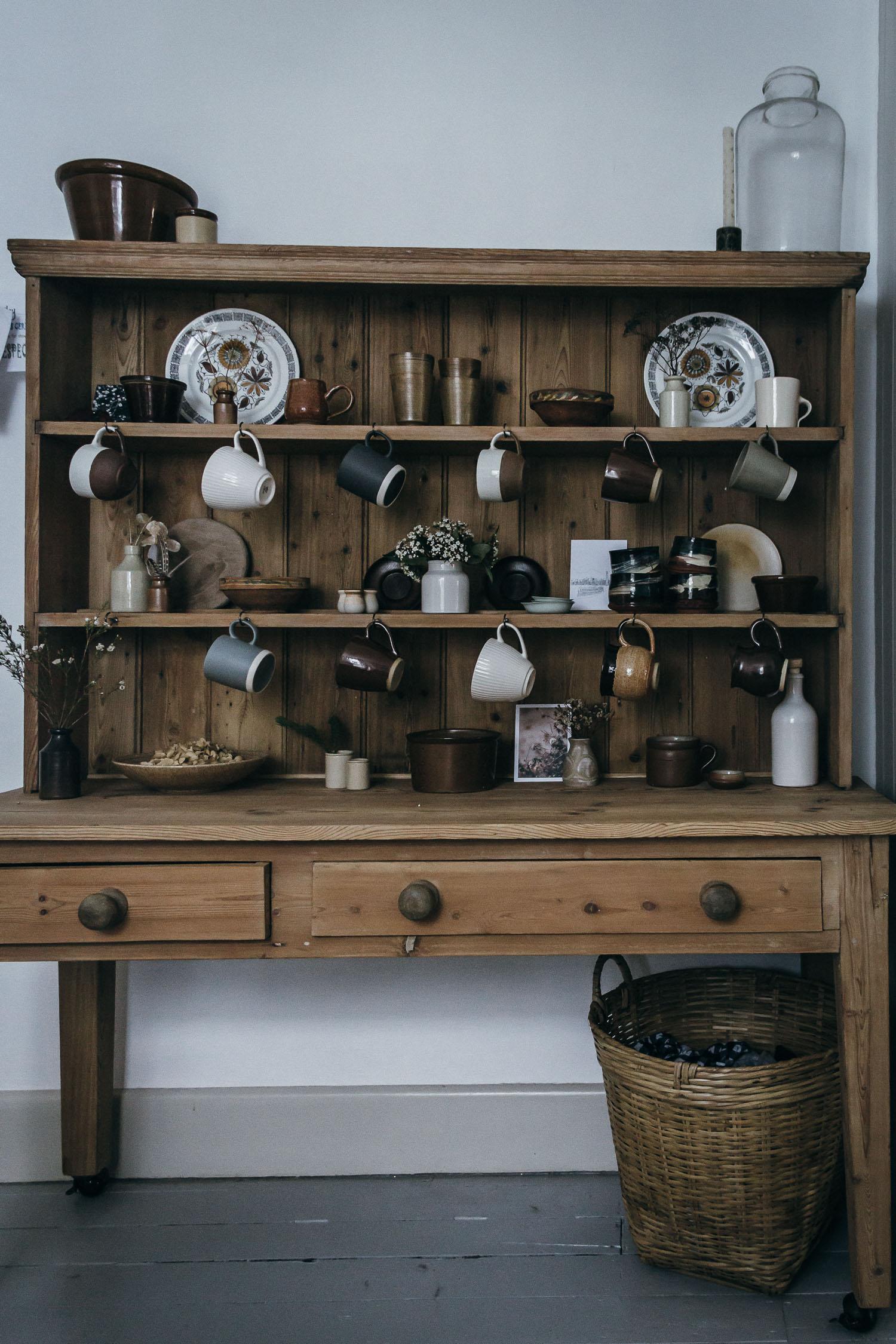 Restoration Reveal. Restored antique dresser.