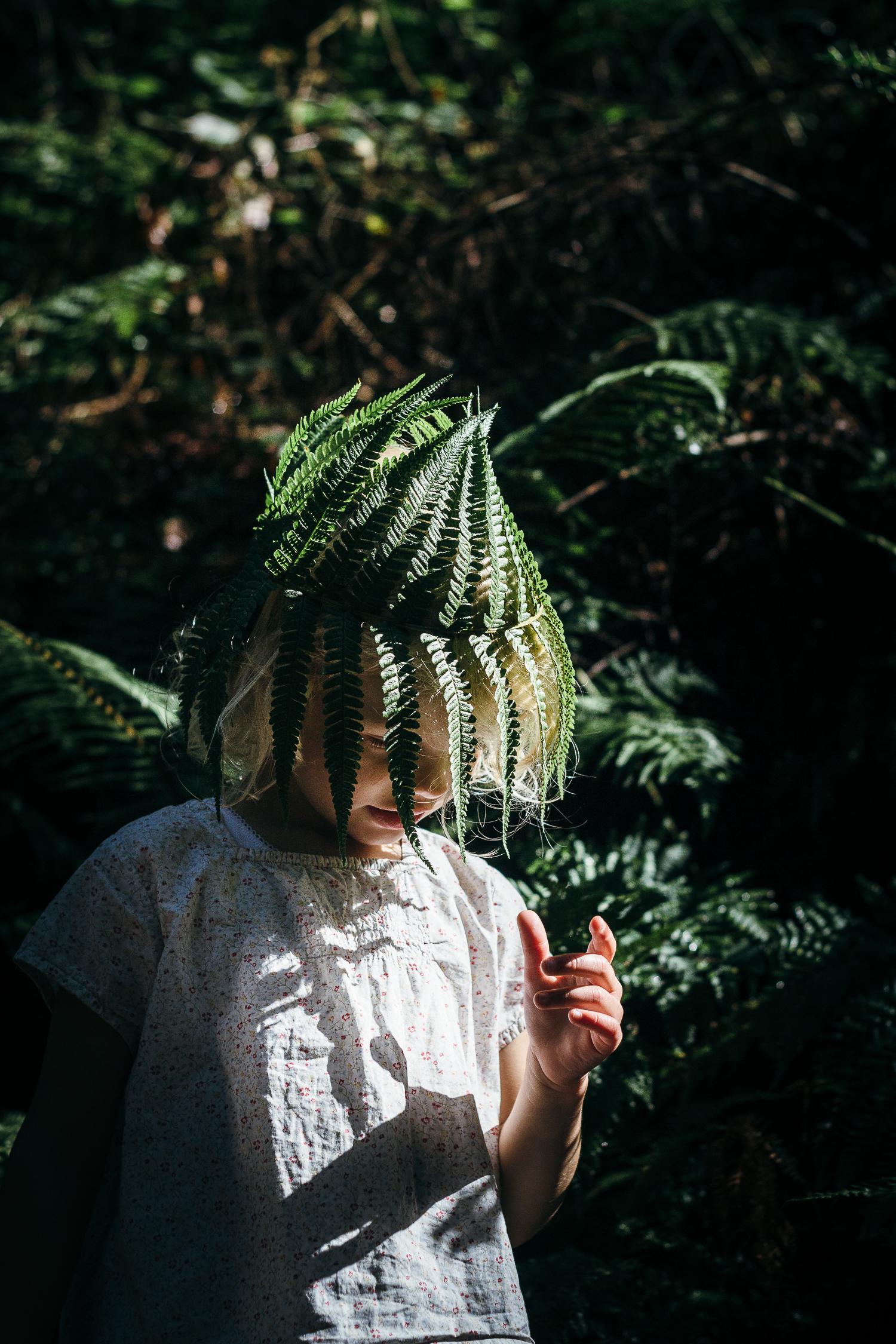 A mothers love - fern flower crown
