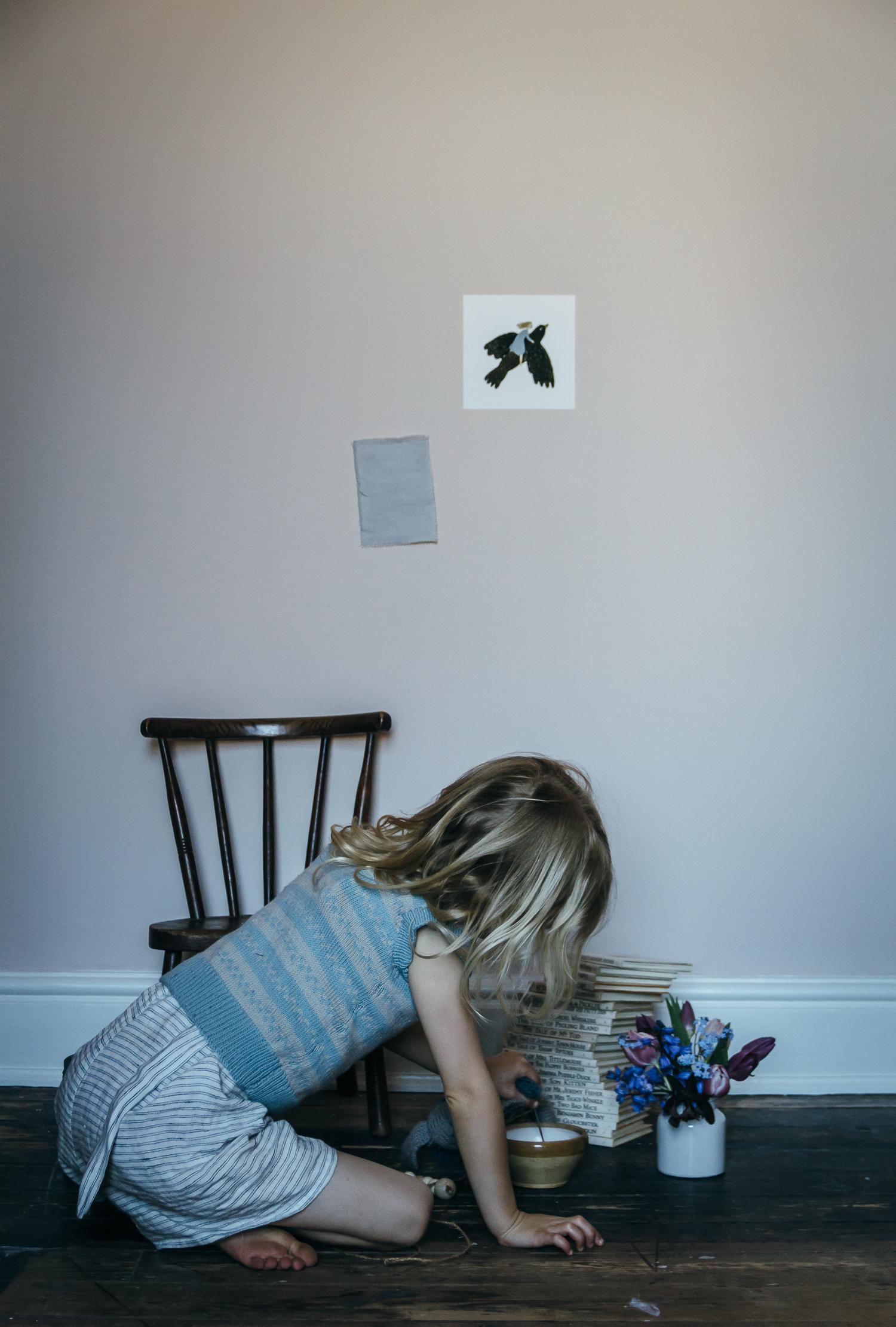 THE RENOVATION SO FAR: SIMPLE CHILDREN'S BEDROOM
