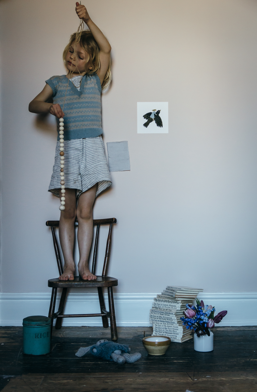 slow and simple children's bedroom renovation