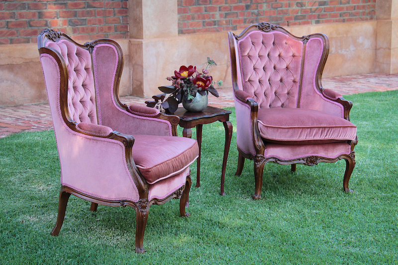 SEATING - a collection of vintage pieces that will transform any space.