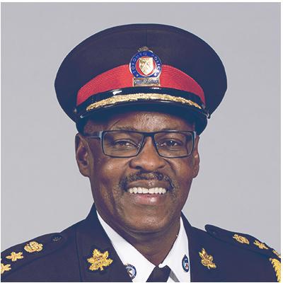 Mark Saunders, Toronto Chief of Police