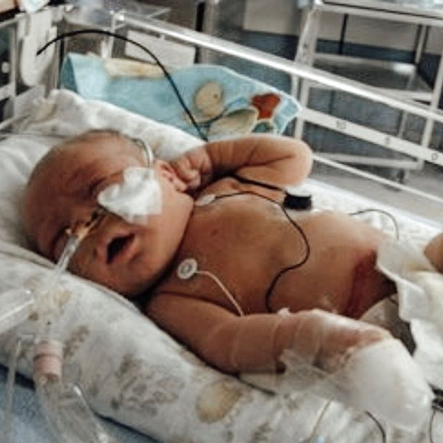 "This is Hartley. He is the SickKids ambassador that will be speaking at breakfast this Friday. Hartley may not remember his time in the NICU very well, but we are sure his parents do. .  Raising money for the NICU at SickKids has opened our eyes to all of the details required to care for critically ill children and their families. .  We had an opportunity to sit down with Dr. Lihn Ly, a Staff Neonatologist and the Medical Director of both the NICU and the Neonatal Neurodevelopmental Follow-Up Program.  We learned that the top two needs of the NICU include adding more space and adding more beds. We also learned about why they incorporated the philosophy ""every little thing"" while working on the redesign of the unit. It is clear the staff at SickKids care tremendously about the families they serve. ❤️ Check out our stories to hear more! . . . #champs4sickkids #sickkidsvs #aickkids #toronto #nicu #premature #fundraising #networking"