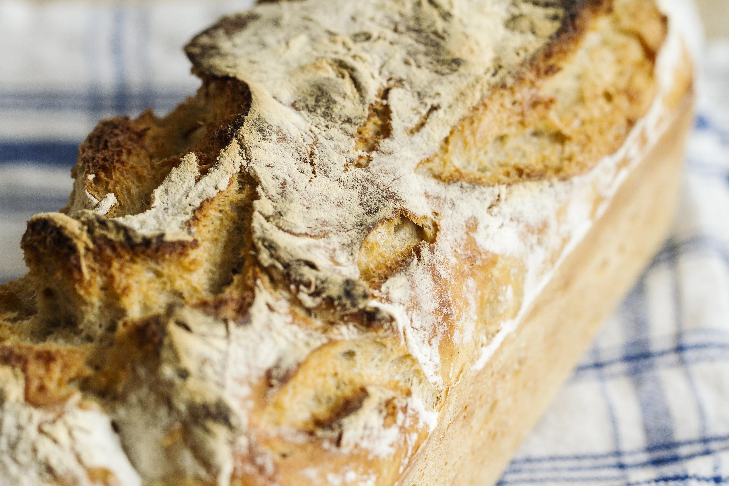Recette de pain au levain par Alix Le Calvez Diététicienne Psychonutritionniste